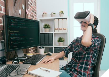 미래기술의 핵심, VR게임콘텐츠과에서 꿈이 현실이 됩니다.